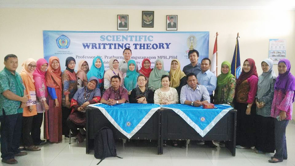 pelatihan di urindo scientific writting theory